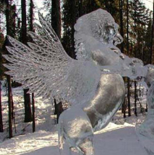 Ice Sculpture Horse