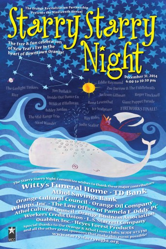 Starry Starry Night Poster 2014