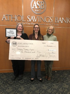 Tabitha Fournier of Athol Savings Bank